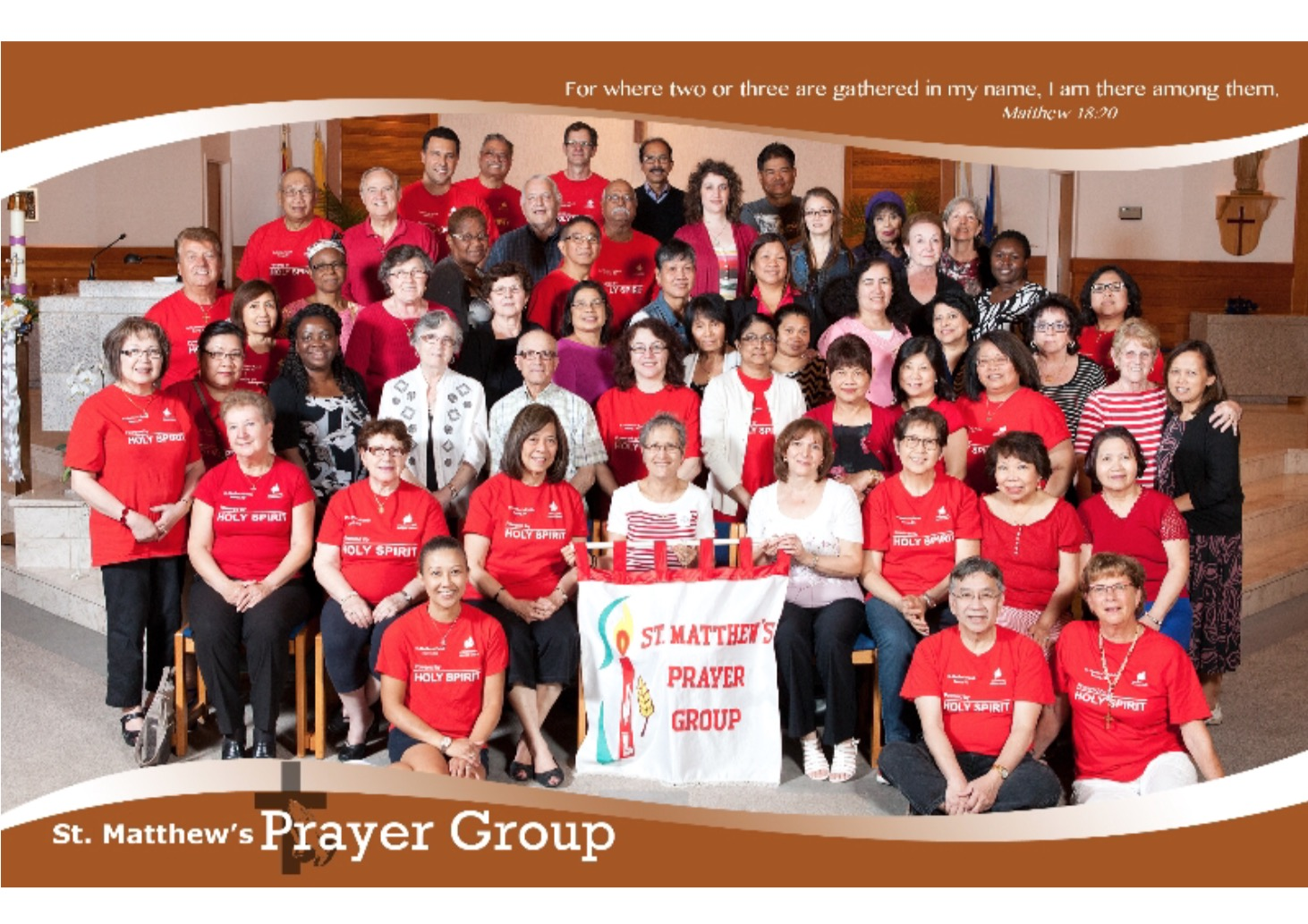 St. Matthew Prayer Group 2016 Photo